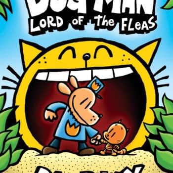 Scholastic to Print 3 Million Copies of Dav Pilkey's Dog Man: Lord of the Fleas Graphic Novel