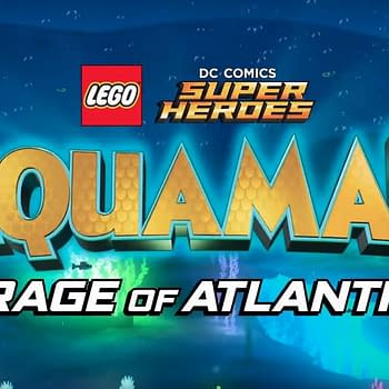 Getting Soaked at the World Premiere of LEGO DC Comics Superheroes Aquaman: Rage of Atlantis [SDCC]