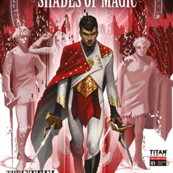 Titan Offers First Look at V.E. Schwab's Shades of Magic: The Steel Prince Prequel Comic