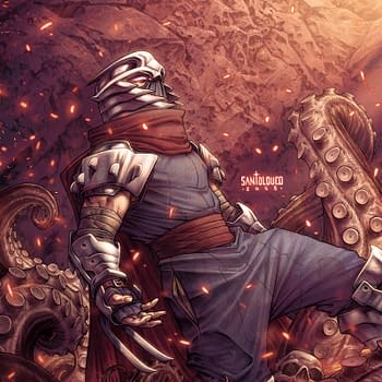 Teenage Mutant Ninja Turtles: Shredder in Hell a 5-Issue Mini-Series by Mateus Santolouco Hits Comic Stores in Early 2019