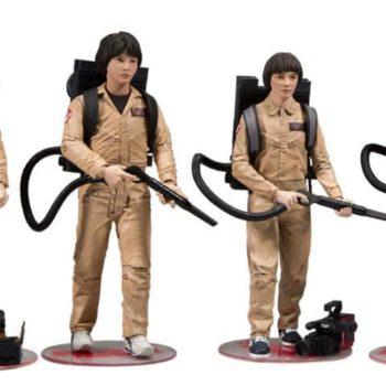 Stranger Things Ghostbusters Figure Box Set