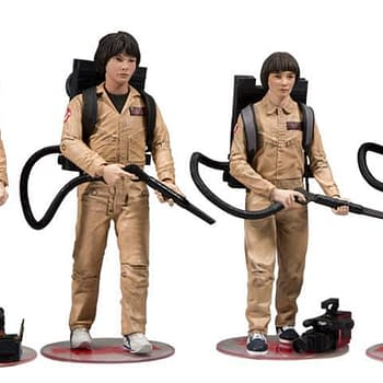 Stranger Things Kids Ghostbusters Figure Set Hits Gamestop in October