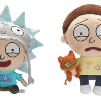 Rick and Morty Pocket Mortys Plush Exclusive to SDCC From Symbiote Studios