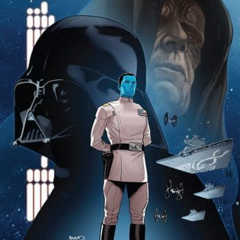 Star Wars: Thrawn #6 cover by Paul Renaud