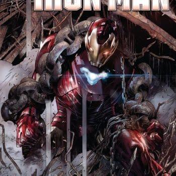 `Tony Stark: Iron Man #2 cover by Alexander Lozano
