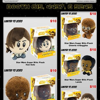 Star Wars Plush Exclusives Come to the Toynk Booth at SDCC