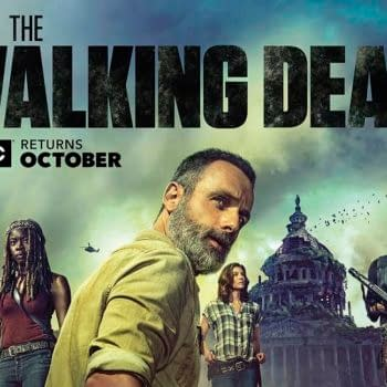 Walking Dead at SDCC: Andrew Lincoln's Teary Departure, Samantha Morton Cast as Alpha of the Whisperers, Premiere Date, and More
