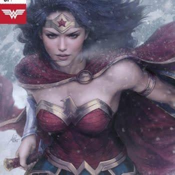 "Wonder Woman #51 cover by Stanley ""Artgerm"" Lau"