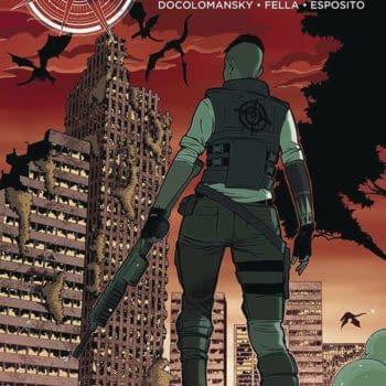 Zinnober #1 cover by Ralf Singh, Cristian Docolomansky, and Ilaria Fella