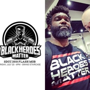 Dieselfunk Dispatch: SDCC Black Heroes Matter Flash Mob with David F. Walker and Uraeus