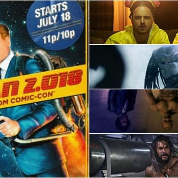 Conan 2.018: Live from Comic Con Lands Breaking Bad The Predator Glass and Aquaman Casts