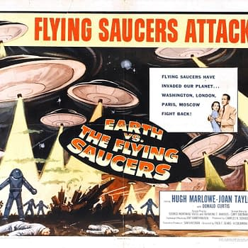 Castle of Horror: In Earth vs. Flying Saucers No Alien Comes in Peace