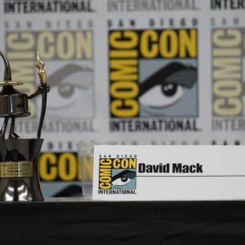 Focus on David Mack at SDCC: Inkpot, Jessica Jones, Autism, and Me