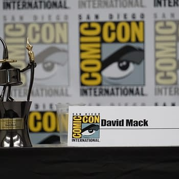Focus on David Mack at SDCC: Inkpot Jessica Jones Autism and Me