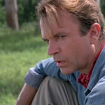 The Best Photo of Sam Neill and Dinosaurs Since Jurassic Park
