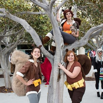 Captains Marvel and America and a Tree Full of Squirrel Girls at SDCCs Marvel Cosplay Gathering [Photos]