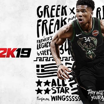 Giannis Antetokounmpo Announced as NBA 2K19 Standard Cover Athlete