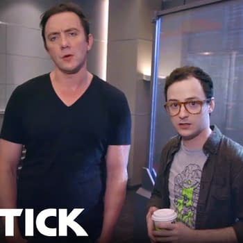 Amazon Drops Behind-the-Scenes Video from The Tick at San Diego Comic-Con