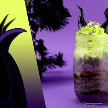 Disney Maleficent cake jar