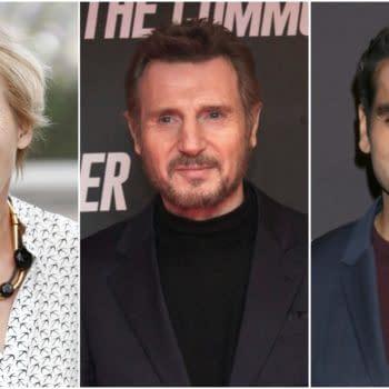 'Men in Black' Reboot Gains Emma Thompson, Liam Neeson, and Kumail Nanjiani