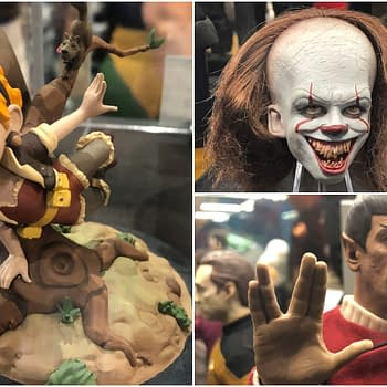 70 Pictures from the Quantum Mechanix Booth at SDCC – Q-Figs Star Trek Pennywise