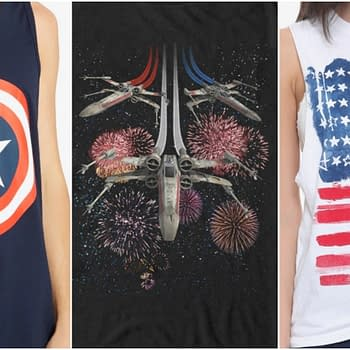 Head Over to Hot Topic for Some Red White and Blue (and Black) T-Shirt Action