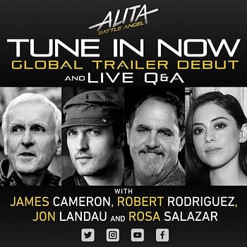 Alita: Battle Angel Facebook Live Q&#038A with Cast and Crew