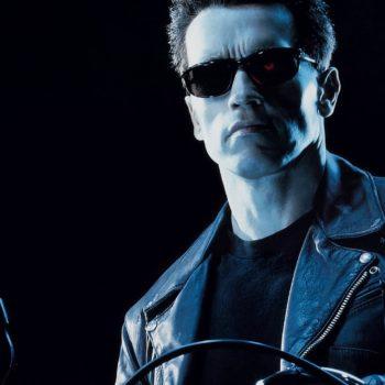 Gabriel Luna Gets 'Terminator' Training from the T-800 Himself