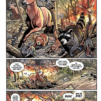 Bambi Revisited The Fire Burns in Beasts of Burden and More Dark Horse Previews for 8/22