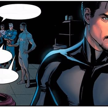 Has Tony Stark Ever Looked as Much Like Robert Downey Jr. as He Does in Punisher #1?
