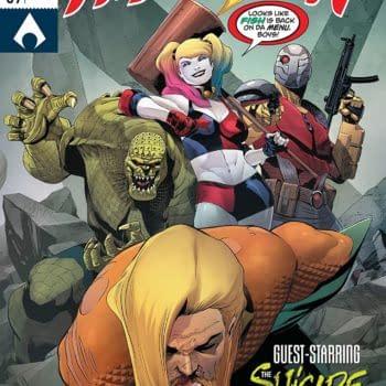 Aquaman #39 cover by Rafa Sandoval