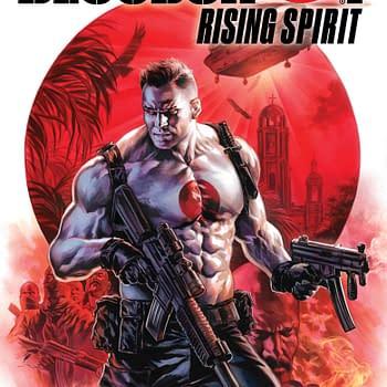 Heres How Retailers Can Get Doug Braithwaites Glass Variant Cover for Bloodshot Rising Spirit #1