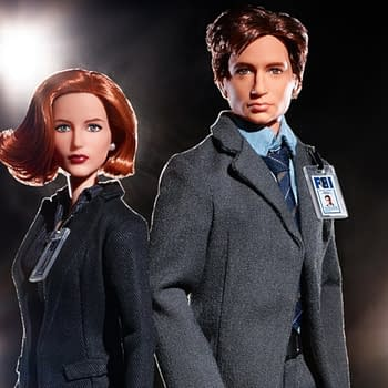 Mattel Releasing Mulder Scully Barbies for The X-Files 25th Anniversary