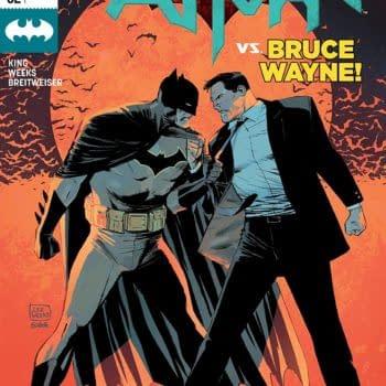Batman #52 cover by Lee Weeks and Elizabeth Breitweiser