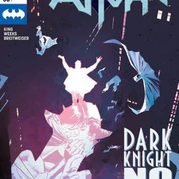 Batman #53 cover by Lee Weeks and Elizabeth Breitweiser