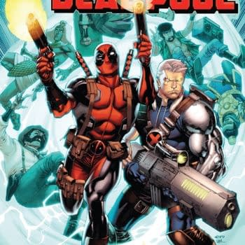 Cable/Deadpool Annual #1 cover by Chris Stevens