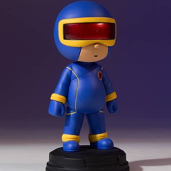 Cyclops Becomes the 19th Marvel Animated Statue From Gentle Giant