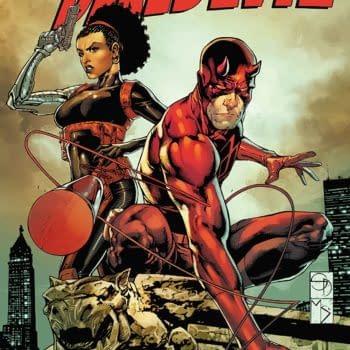 Daredevil Annual #1 cover by Shane Davis, Michelle Delecki, and Romulo Fajardo Jr.