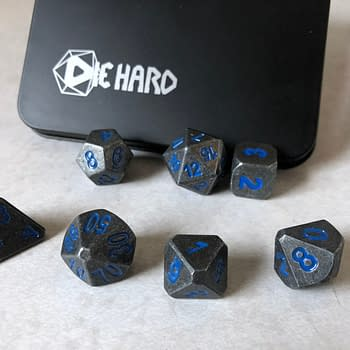 Review: Die Hard Dice — Forge Dice &#8211 Raw Steel w/ Paragon Blue