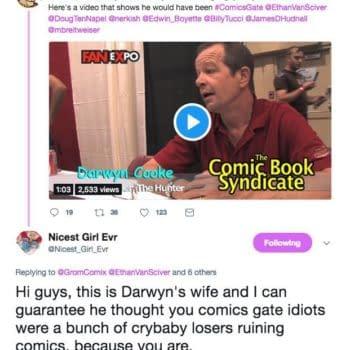 Marsha Cooke, Ethan Van Sciver, Comicsgate, and Darwyn Cooke's Legacy