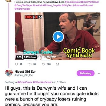 Marsha Cooke Ethan Van Sciver Comicsgate and Darwyn Cookes Legacy