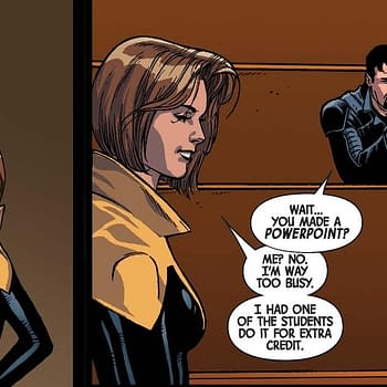 Kitty Pryde Uses Power Point to Figure Out the Point of All This in Hunt for Wolverine: Dead Ends