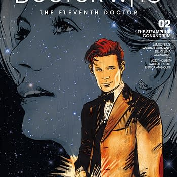 Doctor Who: Road to the Thirteenth Doctor- The Eleventh Doctor #1 Review &#8211 San Francisco Steampunk
