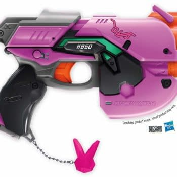 Overwatch's D.Va is Getting Her Bunny Blaster Turned Into a Nerf Gun