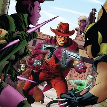 Exiles #6 cover by Mike McKone