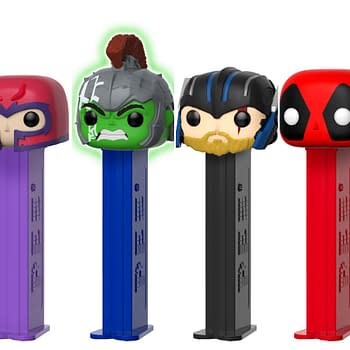 Funko Hot Topic and BoxLunch Team Up to Launch Marvel Pop Pez