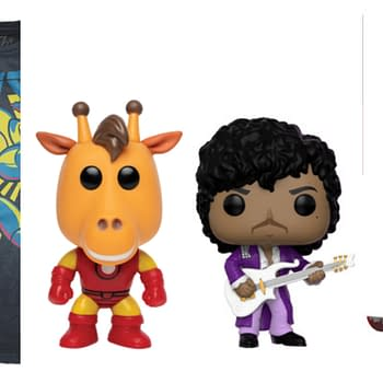 Funko Round-Up: Prince Horror 5 Star Geoffery Lives and Mega Man