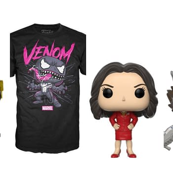 Funko Round-Up: Venom Pop Tees Veep Pops and Guardians of the Galaxy Pops