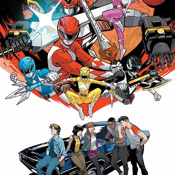 First Look at Power Rangers Spring Break in Go Go Power Rangers: Back to School Special