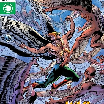 Hawkman #3 Review: A Swarm of Bird-Men and a T-Rex